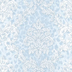 Gabriella Light Blue Ogge Busy Toss Wallpaper CHR11705