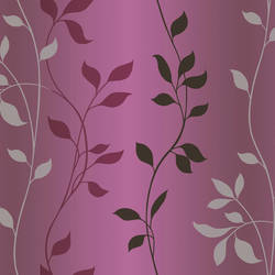 Sullivan Purple Ombre Vine Trail Wallpaper CHR34089