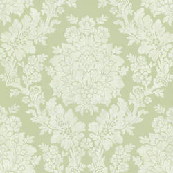 Liza Green Roselle Damask 344-68713