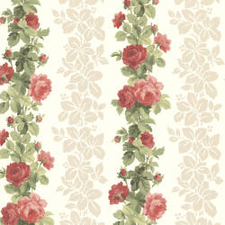Preshea Red Rose Stripe 344-68737