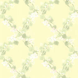 Delphia Yellow Jasmine Trellis 344-68758
