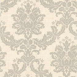 Everest Taupe Woven Damask 2446-83535