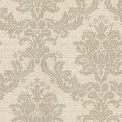 Everest Grey Woven Damask 2446-83537