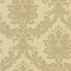 Everest Beige Woven Damask 2446-83539