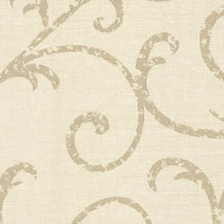 Bates Cream Textured Scroll 2446-83553