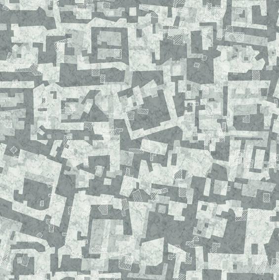 Marble Mara Grey Geometric Mural 356202