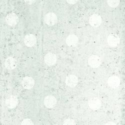 Concrete Dots Light Grey Polka Dot Mural 356214