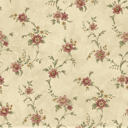 Elizabeth Bronze Floral Trail Wallpaper CG11339
