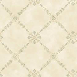 Rebecca Cream Trellis Criss Cross Wallpaper CG11345