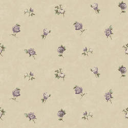Sandra Grey Floral Toss Wallpaper CG11369