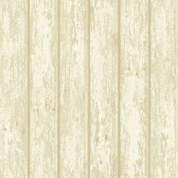 Athena Grey Faux Weathered Wood Wallpaper CG66424
