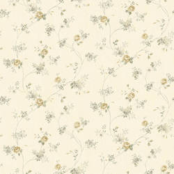 Virginia Cream Floral Vine Wallpaper CG97096