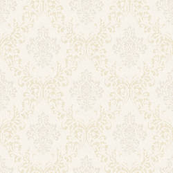 Golden Ice Damask Wallpaper CG97133