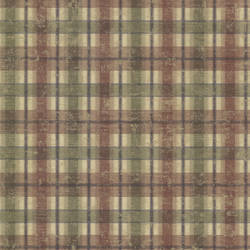 Nellie Brick Wooden Plaid CTR16139