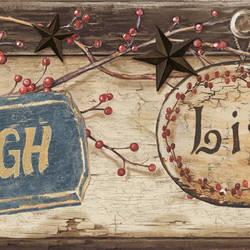 Kinsey Blue Live Laugh Love Border CTR63151B