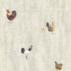 Lisle Grey Roosters & Script CTR64211