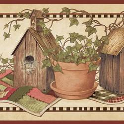 Marlene Burgundy Angels & Ivy Border CTR65422B