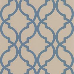Harira Blue Moroccan Trellis DL30617
