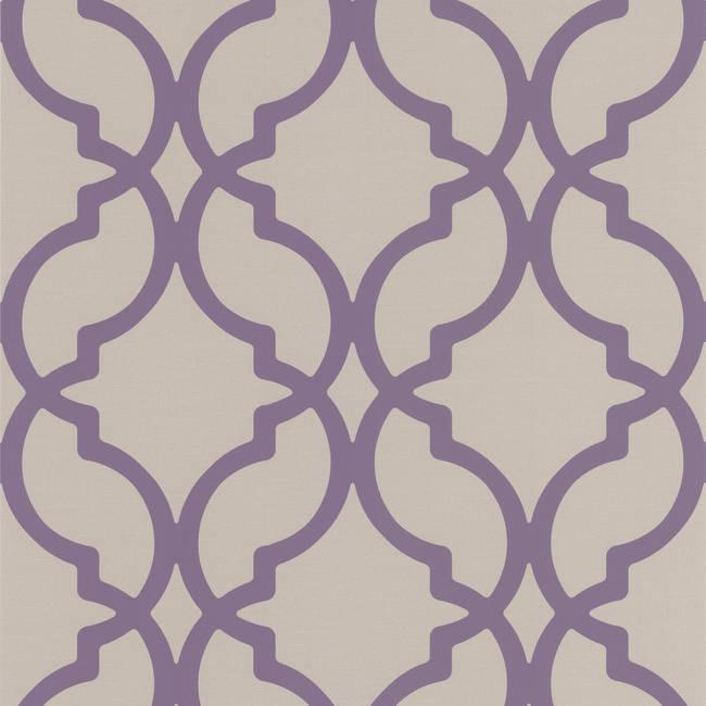 Harira Purple Moroccan Trellis DL30619