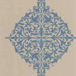 Pastiche Blue Classical Motif DL30621