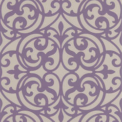 Sonata Purple Ironwork DL30627