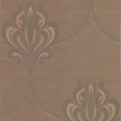 Orfeo Brown Nouveau Damask DL30643