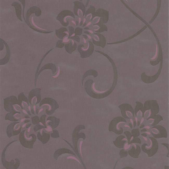 Sharon Purple Jacobean Floral DL30649