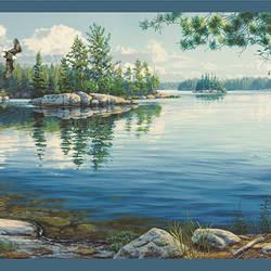 Caddo Navy Echo Lake Border TLL01511B