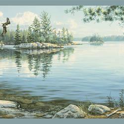 Caddo Sky Echo Lake Border TLL01512B