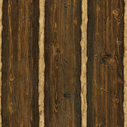 Log Cabin Brown Wood Paneling TLL41382
