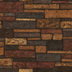 Clayton Charcoal Stone Texture TLL41394