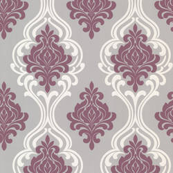 Indiana Purple Damask 2533-20211