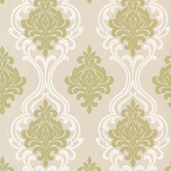 Indiana Light Green Damask 2533-20212