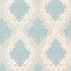 Indiana Light Blue Damask 2533-20214