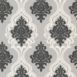 Indiana Black Damask 2533-20215