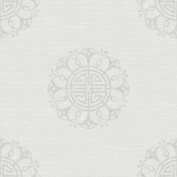 Lien White Fountain Medallion 2669-21724