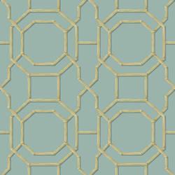 Summer Turquoise Trellis 2669-21737