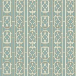 Empire Turquoise Lattice 2669-21742