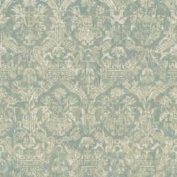 Lotus Turquoise Damask 2669-21752