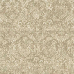 Lotus Green Damask 2669-21755