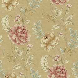 Summer Palace Beige Floral Trail 2669-21759