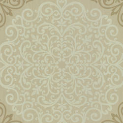 Cassidy Bronze Medallion Damask CCE130022
