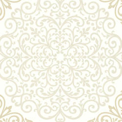 Cassidy Cream Medallion Damask CCE130024