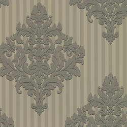 Rowan Pewter Damask Stripe CCE130091