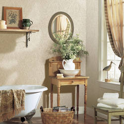Beige Country Damask FFR66345