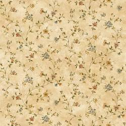 Taupe Antique Floral Vine FFR66363