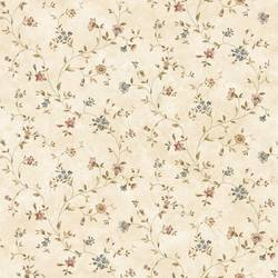 Beige Antique Floral Vine FFR66364