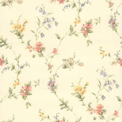Suzanne Taupe Floral Trail 436-38536