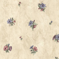 Petunia Purple Marble Floral 436-45104
