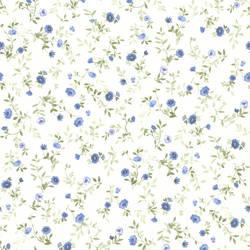 Rachelle Blue Floral Toss 436-49228